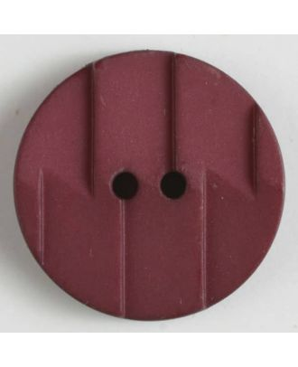 polyamide button 2 holes - Size: 19mm - Color: wine red - Art.No. 265608