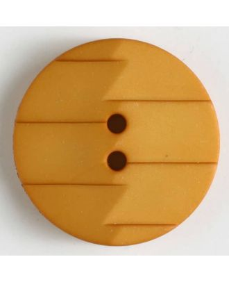 polyamide button 2 holes - Size: 19mm - Color: yellow - Art.No. 265628