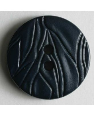 Fashion button - Size: 20mm - Color: blue - Art.No. 260642