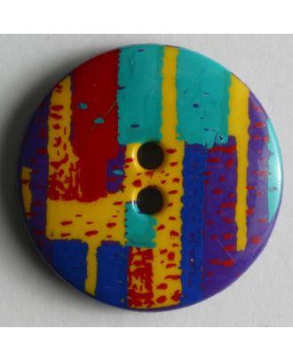 Fashion button - Size: 13mm - Color: lilac - Art.No. 211253