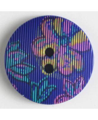 fashion button - Size: 20mm - Color: lilac - Art.-Nr.: 280654