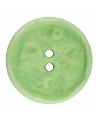 polyamide button round shape vintage look and 2 holes - Size: 23mm - Color: light green - Art.-Nr.: 346832