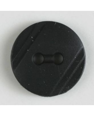 shirt buttons with 2 holes - Size: 13mm - Color: black - Art.No. 211256