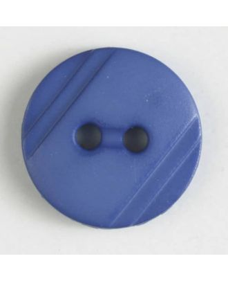 shirt buttons with 2 holes - Size: 13mm - Color: blue - Art.No. 217604