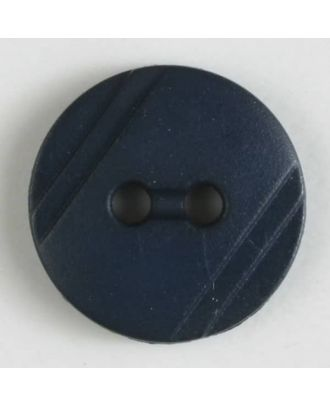shirt buttons with 2 holes - Size: 13mm - Color: navy blue - Art.No. 211257