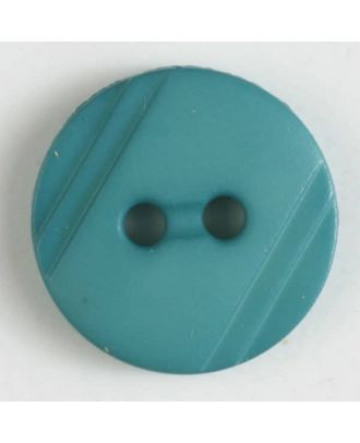 shirt buttons with 2 holes - Size: 13mm - Color: green - Art.No. 217606