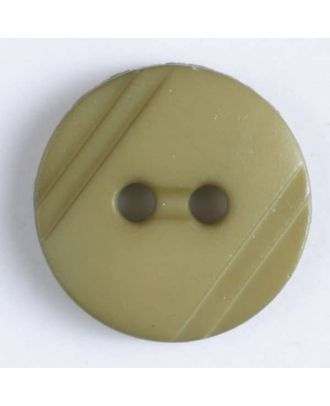 shirt buttons with 2 holes - Size: 13mm - Color: green - Art.No. 217608