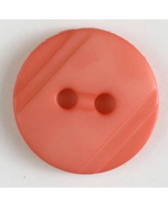 shirt buttons with 2 holes - Size: 13mm - Color: pink - Art.No. 217610
