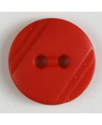 shirt buttons with 2 holes - Size: 13mm - Color: red - Art.No. 211258