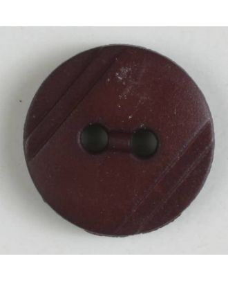shirt buttons with 2 holes - Size: 13mm - Color: wine red - Art.No. 217611