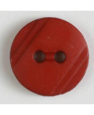 shirt buttons with 2 holes - Size: 13mm - Color: orange - Art.No. 217613