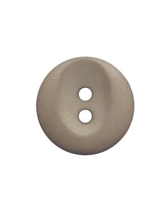 polyamide button round shape with 2 holes - Size: 13mm - Color: beige - Art.No.: 222053