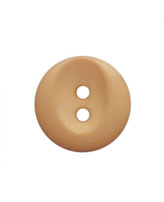 polyamide button round shape with 2 holes - Size: 13mm - Color: beige - Art.No.: 222054