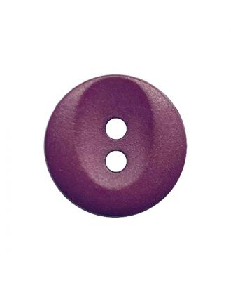 polyamide button round shape with 2 holes - Size: 13mm - Color: brombeer - Art.No.: 222061