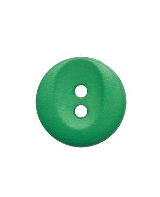 polyamide button round shape with 2 holes - Size: 13mm - Color: grün - Art.No.: 222063