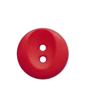 polyamide button round shape with 2 holes - Size: 13mm - Color: rot - Art.No.: 222067