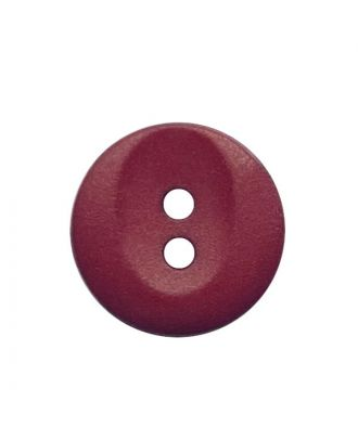 polyamide button round shape with 2 holes - Size: 13mm - Color: weinrot - Art.No.: 222068