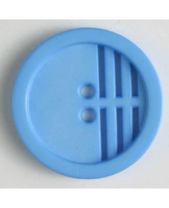 polyamide button - Size: 15mm - Color: blue - Art.No. 226600