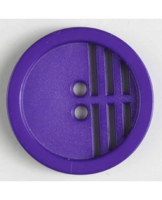 polyamide button - Size: 20mm - Color: lilac - Art.No. 266602
