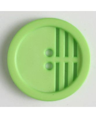 polyamide button - Size: 15mm - Color: green - Art.No. 226603