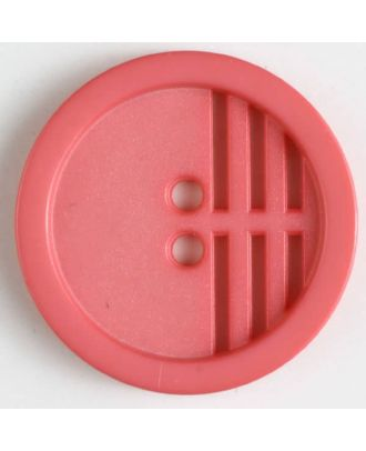 polyamide button - Size: 20mm - Color: pink - Art.No. 266604