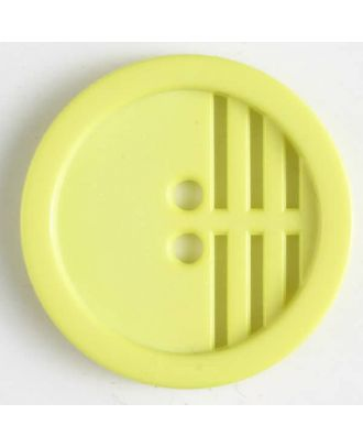 polyamide button - Size: 20mm - Color: yellow - Art.No. 266606