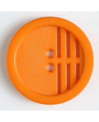 polyamide button - Size: 25mm - Color: orange - Art.No. 306607
