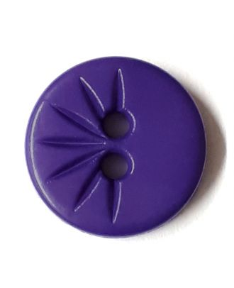 shirt button wit 2 holes - Size: 13mm - Color: lilac/purple - Art.No. 212809
