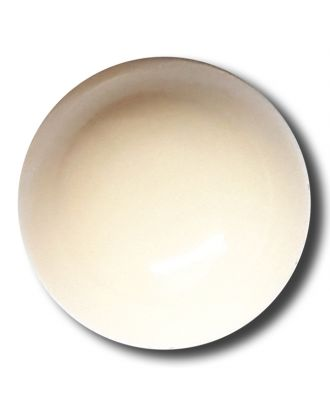 half ball button with shank - Size: 15mm - Color: beige - Art.No. 222826