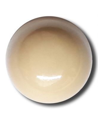 half ball button with shank - Size: 15mm - Color: beige - Art.No. 222828
