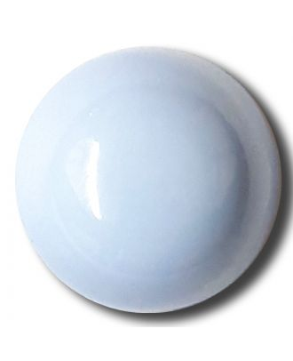 half ball button with shank - Size: 15mm - Color: blue/light blue - Art.No. 222829
