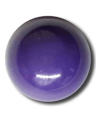 half ball button with shank - Size: 13mm - Color: lilac/purple - Art.No. 212847