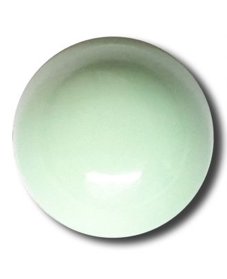 half ball button with shank - Size: 15mm - Color: gentle/light green - Art.No. 222832