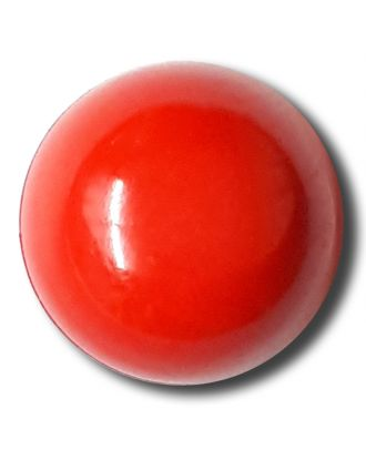 half ball button with shank - Size: 15mm - Color: red - Art.No. 222834