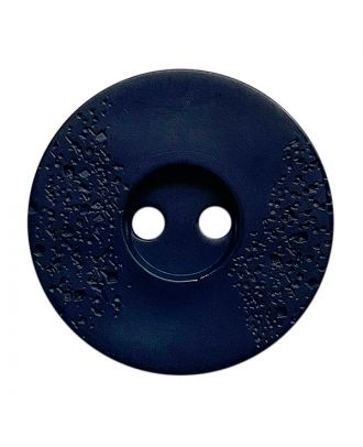 polyamide button round shape with fine structure and 2 holes - Size: 15mm - Color: dunkelblau - Art.No.: 268803