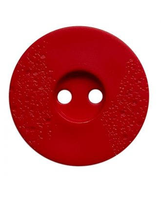polyamide button round shape with fine structure and 2 holes - Size: 20mm - Color: rot - Art.No.: 318858