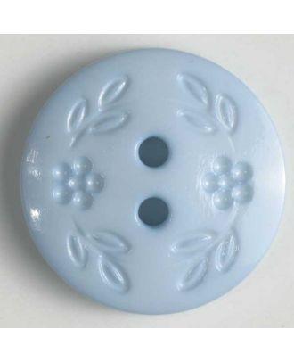 Fashion button - Size: 13mm - Color: blue - Art.No. 218318