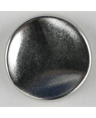 polyamide button with shank - Size: 18mm - Color: dull silver - Art.-Nr.: 261231