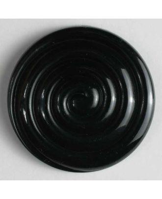 Fashion button - Size: 38mm - Color: black - Art.No. 360359