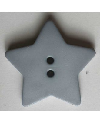 Quilting & Patchwork button - Size: 28mm - Color: grey - Art.No. 289027