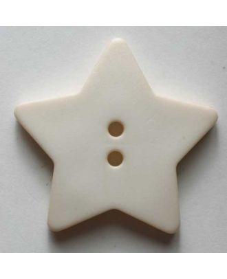 Quilting & Patchwork button - Size: 28mm - Color: beige - Art.No. 289101