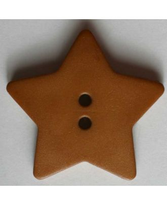 Quilting & Patchwork button - Size: 28mm - Color: brown - Art.No. 289102