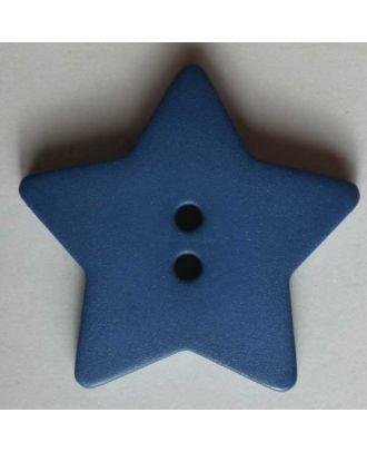 Quilting & Patchwork button - Size: 28mm - Color: blue - Art.No. 289034