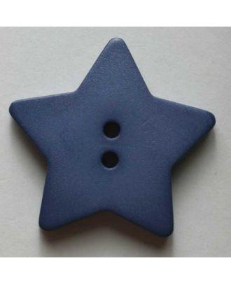 Quilting & Patchwork button - Size: 28mm - Color: blue - Art.No. 289035