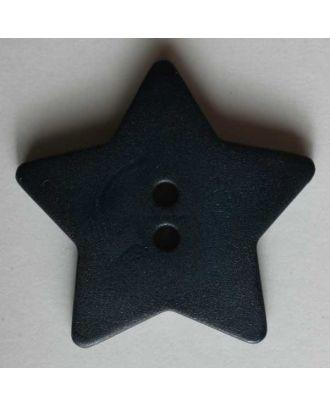 Quilting & Patchwork button - Size: 28mm - Color: blue - Art.No. 289036