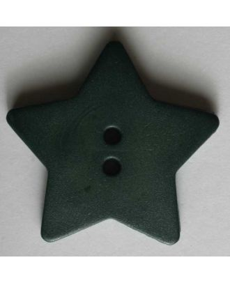 Quilting & Patchwork button - Size: 28mm - Color: green - Art.No. 289042