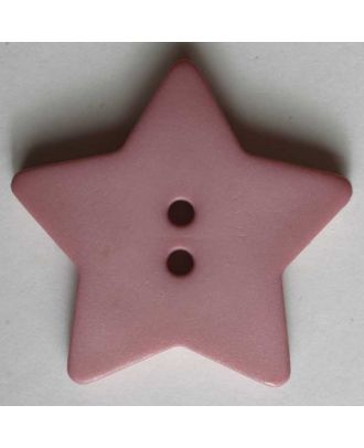 Quilting & Patchwork button - Size: 28mm - Color: pink - Art.No. 289045