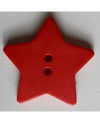 Quilting & Patchwork button - Size: 28mm - Color: red - Art.No. 289046
