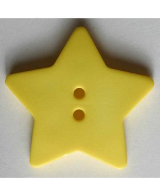 Quilting & Patchwork button - Size: 28mm - Color: yellow - Art.No. 289048