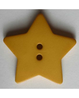 Quilting & Patchwork button - Size: 28mm - Color: yellow - Art.No. 289049